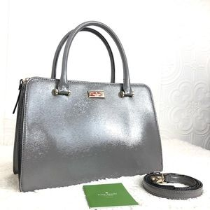 🌸OFFERS?🌸 Kate Spade Leather Gray Satchel